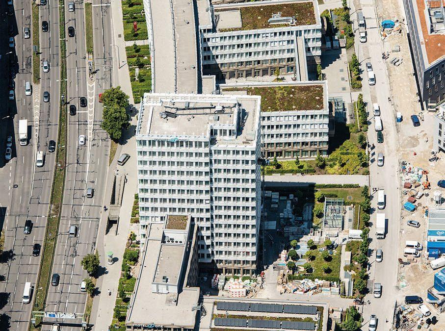 Büro- und Einzelhandelsgebäude Parkviertel Giesing