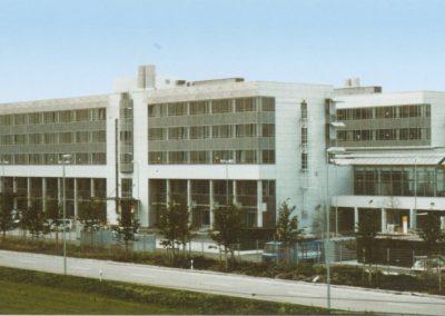 Flugbetriebsgebäude der Lufthansa