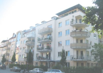 Wohnhaus Pullacher Straße / Franziska Reindl Platz